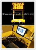 Seguridad del camino de la gestión de tránsito de la seguridad en carretera del control de tráfico de la señal de tráfico del acoplado de la tarjeta de mensaje