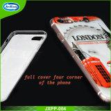 Крышка мобильного телефона высокого способа тонкая ясная на iPhone 6