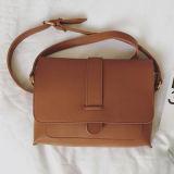 カスタムイタリアのショルダー・バッグの女性の学生かばんOEMのハンドバッグの製造業者Sy7877