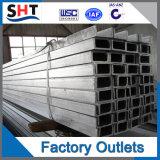 La barra de canales de acero laminado en frío, U-Bar/Precio de acero U