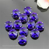 A fábrica do Rhinestone do diamante Sew na pedra extravagante de cristal para os acessórios de roupa de DIY (Interruptor-Rivoli 14mm)