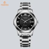Handgelenk-Quarz-Uhr 72844 der LuxuxEdelstahl-Geschäft Relogios Mens-Frauen