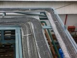 Personnaliser le chemin de câbles percé par qualité faisant la machine