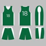 2017 متأخّر ملابس رياضيّة صنع وفقا لطلب الزّبون كرة سلّة جرسيّ مع علامة تجاريّة