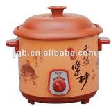 優雅なデザイン電気スープ鍋の遅い炊事道具