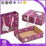 Коробка милого подарка Pcakaging одеяния вахты малышей киски бумажная