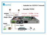 Amplificador da fibra de CATV com Wdm na aplicação de FTTH