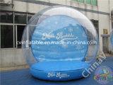 膨脹可能な透過泡ドームのテントを広告する商業展覧会