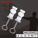 Grampo de cabo de fibra óptica para cabo de telecomunicações