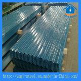 L'eau agité en acier ondulé feuille de revêtement de toiture en métal galvanisé