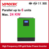 Sonnenenergie-Inverter der 3kVA 2400W 24V Hochfrequenz230vac mit 60A PWM Controller