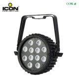 Indicatore luminoso impermeabile di PARITÀ del LED 12*15W 6in1 da Iconlight