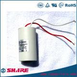 Zylinder-Typ Wechselstrommotor-Läufer-Kondensator des Kondensator-Cbb60