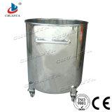 Réservoir de stockage agités en acier inoxydable