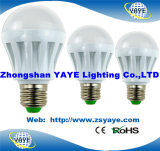Yaye 2017 Best Sell 3W 5W 7W 9W 12W 15W 18W 30W 40W 50W E40 GU10 E14 B22 E27 Lâmpadas LED / Lâmpada LED (Availabe Watts: 1W-150W)
