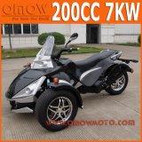 Poder elétrico 7kw ATV Quad Bike 3 Wheeler