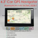 """4.3"""" погрузчик автомобиля портативный навигатор GPS навигации GPS КПК с 480*272 сенсорной панели 2016 Igo карты Навител карты с помощью камер слежения за скоростью, Задний Стояночный кулачок"""