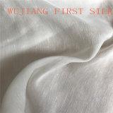 Tela de seda de la tela cruzada de las lanas, tela mezclada de las lanas de seda