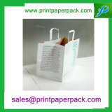 Мешок декоративных разработанных прочных ювелирных изделий косметический бумажный