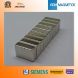 Magneet de van uitstekende kwaliteit van het Blok van het Neodymium N40sh