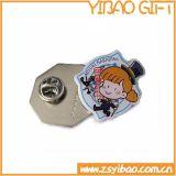 Insignia de botones de logotipo de impresión personalizada con Epoxy Top (YB-Lp-053)