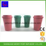 Cuvettes de thé faites sur commande de la plus défunte de fibre de café série respectueuse de l'environnement en bambou de cuvette