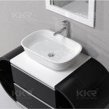 円形の浴室手の洗浄流しのカウンタートップの洗面器