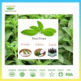 Polvere zero naturale pura dell'estratto di Stevia di caloria