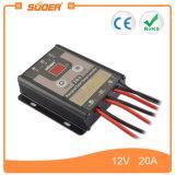 Regolatore solare manuale della carica del comitato solare PWM di Suoer 12V 20A (ST-F1220)