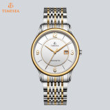 Rose Stainless Steel Montre bracelet pour hommes Classic Sapphire Crystal Chain Watch 72119