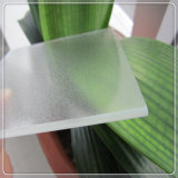 Trempé Ultra Clair Low Fer Diffuse texture à effet de serre en verre