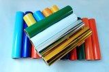 절단 비닐을 만드는 색깔 접착성 표시