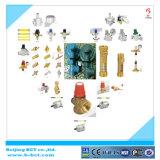 Aço inoxidável, válvula termostática, válvula de radiador termostática de bronze, mistura de água quente e água fria