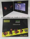 """Personalizado 10.1 do """" folhetos video do encarregado do envio da correspondência do cartão da música LCD"""