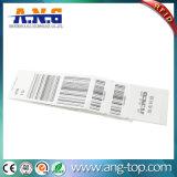 La norma ISO 18000-6c Inlay RFID UHF de largo alcance de las etiquetas de equipaje