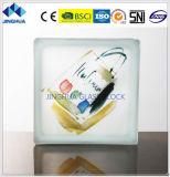 Высокое качество Jinghua лучшая цена художественных P-6 Окраска стекла кирпича/блока цилиндров