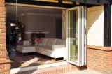 Portelli Bifold del patio di alluminio Finished dello specchio per la Camera esterna