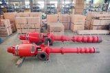 Line-Shaft Overhung turbina Vertical de la bomba de agua contra incendios (Norma ISO9001)