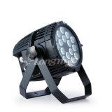 Im Freien Licht DES LED-NENNWERT Licht-18*10W RGBW 4 in-1 Parled für Weihnachtstag