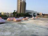 4m de largeur de la membrane étanche en PVC renforcé Hot Sale au Bangladesh en 2018