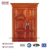 Preiswertestes Preis-Furnierholz-bündige Türen mit festes Holz-Türrahmen