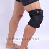 Soportes cómodos de los deportes de la rodilla del neopreno