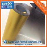 Rodillo laminado PVC de la hoja del color de las chispas del oro que electrochapa la hoja rígida del PVC para el abrigo del tambor