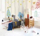 Personagens de desenhos animados de venda quente papéis de parede para o quarto das crianças/Crianças murais de quarto