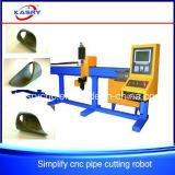 Эффективная труба 3 осей автоматическая связывает автомат для резки плазмы CNC