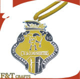 Ribbons를 가진 높은 Quality Custom Religious Honor Award Medal