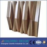 el panel acústico de madera del difusor de los sonidos 3D para la pared y el techo
