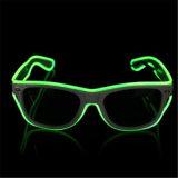 Fehlerfreie Sonnenbrillen Fühler EL-LED