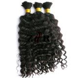 Volume brasileiro desenhado dobro Curly do cabelo do Virgin