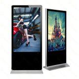 65pouces Full HD affiche multimédia permanent de plancher